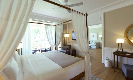 Senior Suite - Gartenblick - Heritage Le Telfair Golf & Wellness Resort - Mauritius