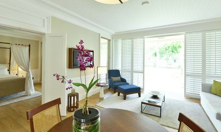 Senior Suite - Meerblick - Heritage Le Telfair Golf & Wellness Resort - Mauritius
