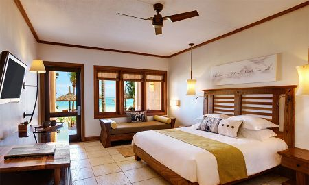 Beachfront Deluxe Zimmer - Heritage Awali Golf & Spa Resort - All Inclusive - Mauritius