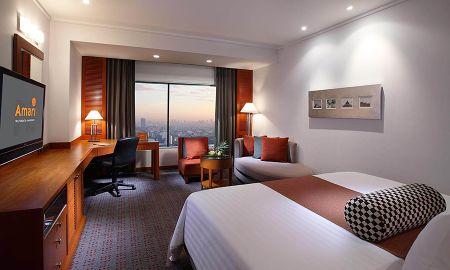 Habitación Deluxe King - Amari Watergate Hotel And Spa, Bangkok - Bangkok