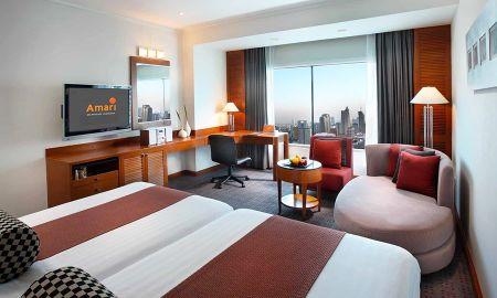 Habitación Deluxe Twin - Amari Watergate Hotel And Spa, Bangkok - Bangkok