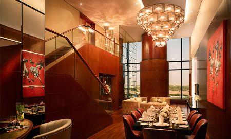 Suite Duplex Présidentielle avec un transfert aéroport gratuit en limousine - The Meydan Hotel - Dubai