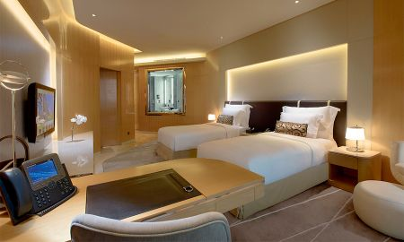Camera Grand Premium Twin con balcone - The Meydan Hotel - Dubai