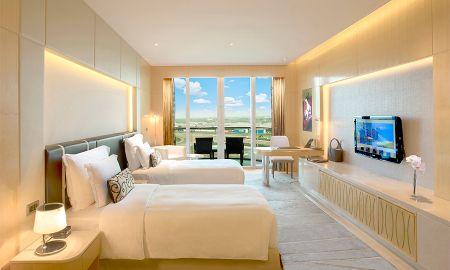 Camera Grand Superior Twin con Balcone - The Meydan Hotel - Dubai