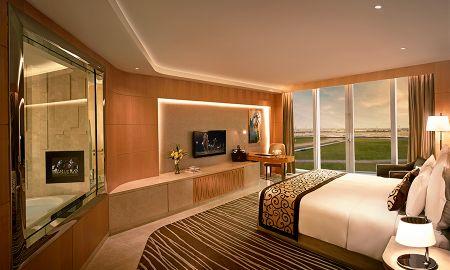 Camera Grand King Deluxe - Balcone - The Meydan Hotel - Dubai