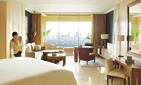 Raffle Club Room - Dubai Skyline - Raffles Dubai - Dubai