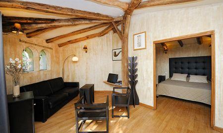 Suite - Garden View - Hotel A Cheda - Córcega