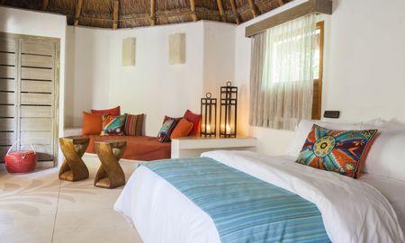 Palapa Room - Ocean View - Mahekal Beach Front Resort – Optional All Inclusive - Playa Del Carmen