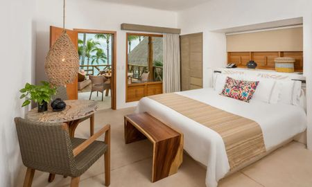 Room - Ocean View - Mahekal Beach Front Resort – Optional All Inclusive - Playa Del Carmen