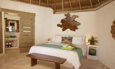 Zimmer Gartenblick Palapa - Mahekal Beach Resort - Playa Del Carmen