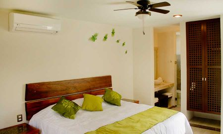 Quarto Deluxe - Vista para o Jardim - Hotel Casa Ticul - Playa Del Carmen