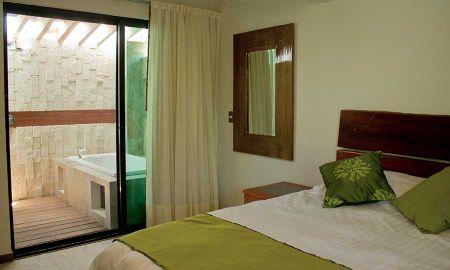 Junior Suite Muna Garden - Hotel Casa Ticul - Playa Del Carmen