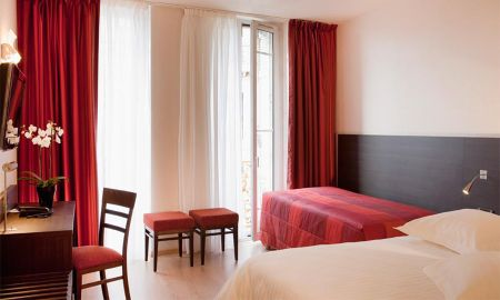 Quarto Triplo Superior - Hotel Escale Oceania Marseille Vieux Port - Marselha
