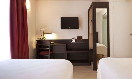 Chambre Confort Twin - Hotel Escale Oceania Aix-en-Provence - Aix En Provence