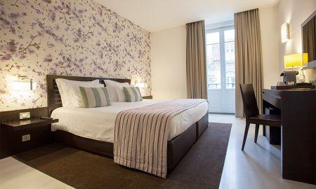Suite - Vue sur Place Rossio - Internacional Design Hotel - Lisbonne