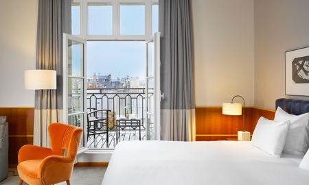 Chambre Signature - Vue Tour Eiffel & Terrasse - K+K Hotel Cayré - Paris