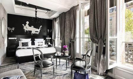 Junior Suite - Maison Albar Hotels Le Champs-Elysées - Paris