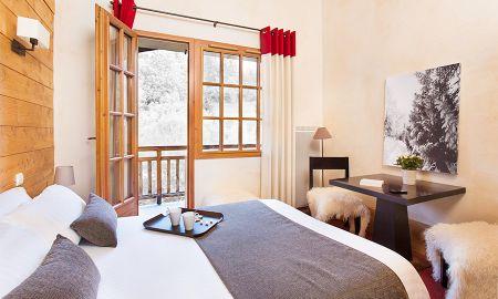 Chambre Double - Hôtel L'Arboisie - Megève