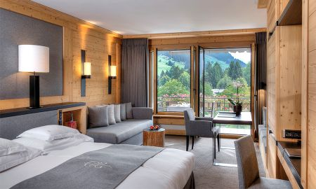 Chambre Deluxe - Vue Montagne - Park Gstaad - Gstaad