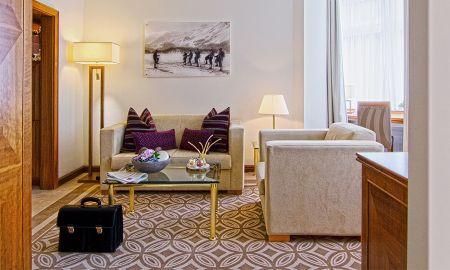 Classic Junior Suite - Kempinski Grand Hotel Des Bains - St. Moritz