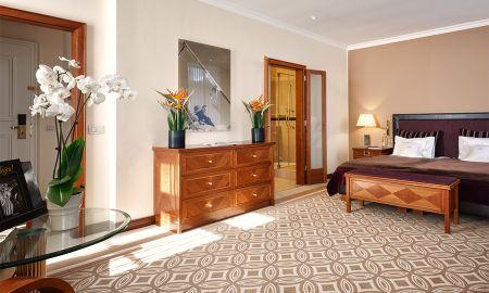 Grand Deluxe Double Room - Kempinski Grand Hotel Des Bains - St. Moritz
