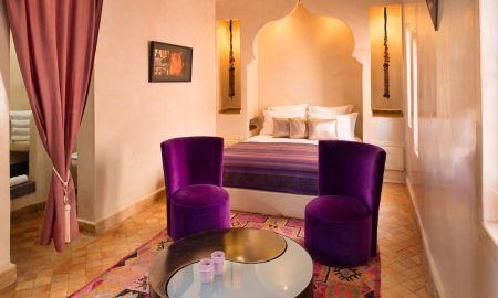 Suite Junior Purple Haze - Riad Cocoon - Marrakech