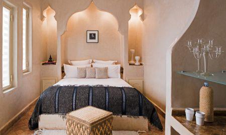Superior Room The White Album - Riad Cocoon - Marrakech