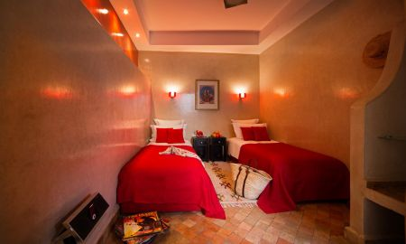 Camera Doppia / Twin Simply Red - Riad Cocoon - Marrakech