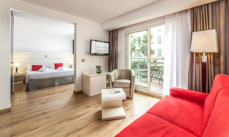 Suíte Junior - Hotel Montaigne & Spa - Cannes
