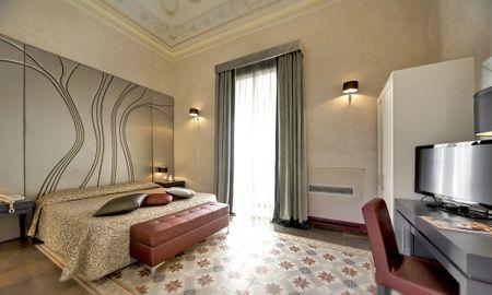 Quarto Superior com Varanda - De Stefano Palace - Antiqua Hotels Group - Sicília