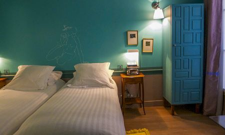 Twin Insolite Room - Hotel Crayon By Elegancia - Paris