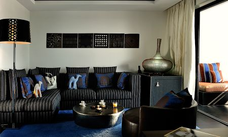 Suite Prestige con océano vistas laterales y vistas a la piscina - Sofitel Agadir Thalassa Sea & Spa - Agadir