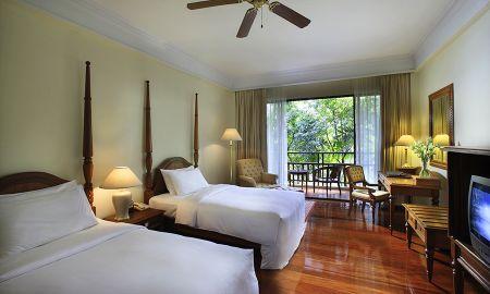 Camera Luxe ,2 Single Beds, Terrazza - Sofitel Angkor Phokeethra Golf & Spa Resort - Siem Reap