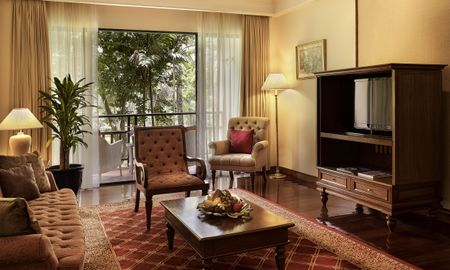 PRESTIGE SUITE, Club Mill?sime Access, 1 King B ed, Garden View, High Floor - Sofitel Angkor Phokeethra Golf & Spa Resort - Siem Reap