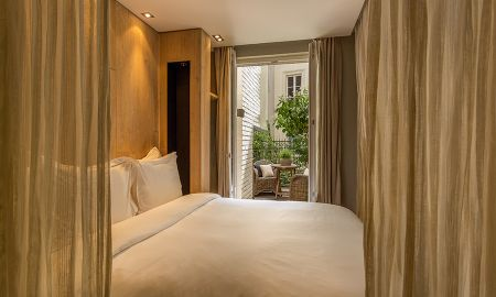 Chambre Emotion avec Terrasse - Hotel Hidden - Paris