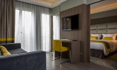 Quarto Deluxe - L'Edmond Hotel - Paris