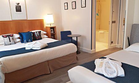 Quarto Triplo - Hotel Waldorf Trocadero - Paris