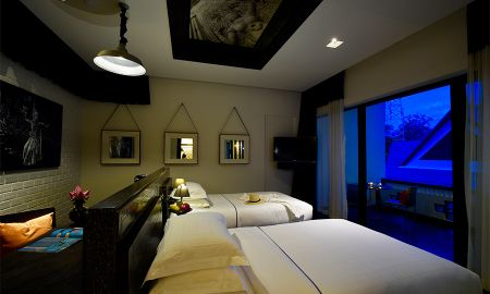 Deluxe Room - Twin bed - Shinta Mani Angkor - Siem Reap