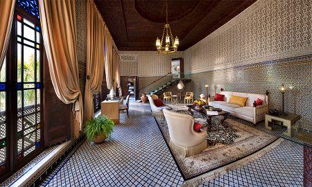 Suite Royale - Riad Fes - Relais & Châteaux - Fes