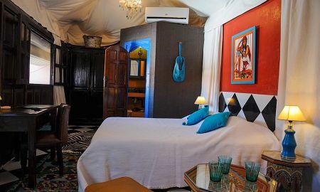 Habitación Turquesa - Riad Les Lauriers Blancs - Marrakech