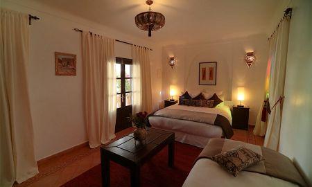 chambre triple - Riad Dar Alfarah - Marrakech