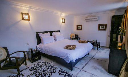 Chambre Supérieure Double (Wifi gratuit, Petit déjeuner Gratuit) - Riad Anyssates - Marrakech