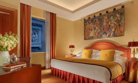 Habitación Clásica - Bio Hotel Raphaël – Relais & Châteaux - Roma