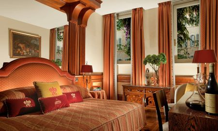 Habitación Doble Deluxe - Bio Hotel Raphaël – Relais & Châteaux - Roma