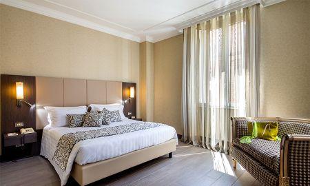 Quarto Duplo Superior - Hotel Savoy Rome - Roma