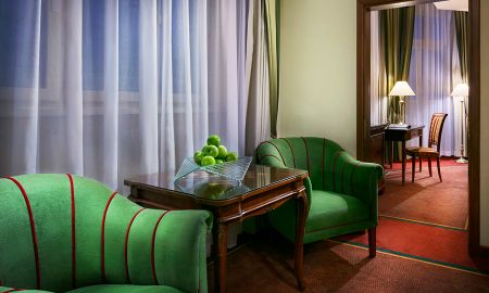 Suite Junior - Art Nouveau Palace Hotel - Praga