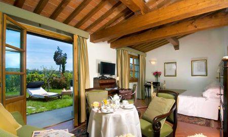 Junior Suite Garten - Villa Olmi Firenze - Toskana