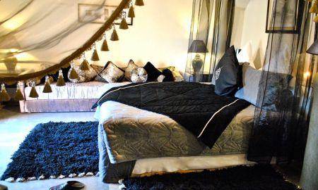 Chambre Deluxe - Kasbah Al Mendili Private Resort & Spa - Marrakech