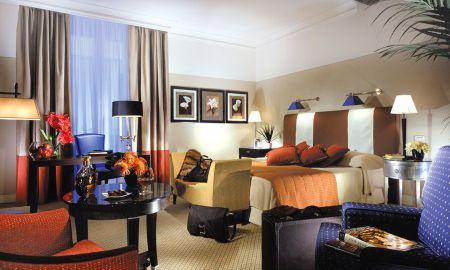 Quarto Individual De luxo - Grand Hotel De La Minerve - Roma