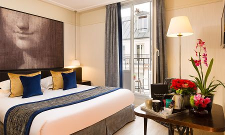 Quarto Club Queen - Hotel Le Chaplain Rive Gauche - Paris